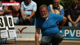 40. Deutsche Pétanque Meisterschaft Triplette 2016 in Saarlouis Halbfinale