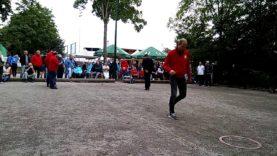 Petanque 2017 Bundesliga in Herxheim Horb vs Osterholz