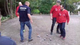 Petanque 2017 Bundesliga in Herxheim Ibbenbüren vs Malsch