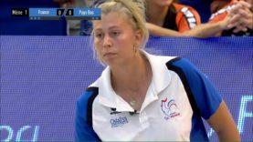 Pétanque Championnat d'Europe 2018 femmes 2è quart finale France Pays Bas
