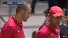 Pétanque Championnat du monde Canada 2018-1ère demi finale Maroc Tunisie