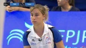 Pétanque Championnat Europe 2018 Féminine  Finale  France Italie